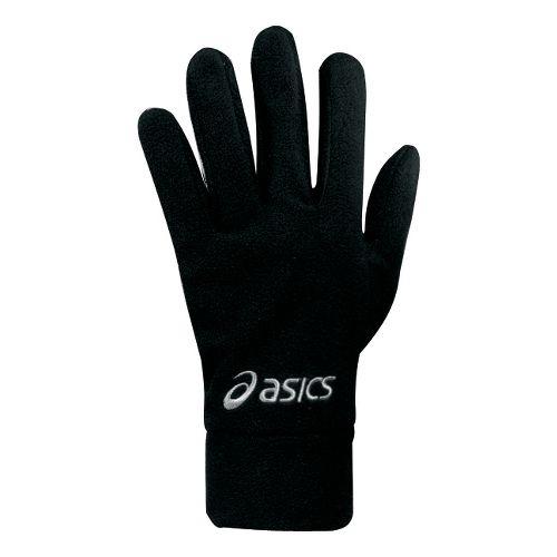 ASICS De-Luxe Fleece Gloves Handwear - Black XS
