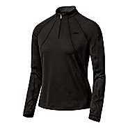 Womens ASICS Thermopolis LT 1/2 Zip  Technical Tops