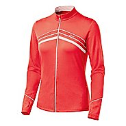 Womens ASICS Thermopolis LT Full Zip Long Sleeve Full Zip Technical Tops