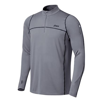 Mens ASICS Thermopolis LT 1/2 Zip Long Sleeve Technical Tops