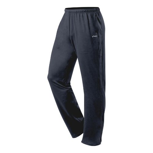 Mens ASICS Thermopolis LT Run Pant Full Length - Iron L