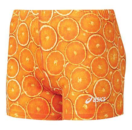 Womens ASICS Citrus Fitted Shorts
