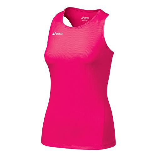 Womens ASICS Circuit-7 Singlet Long Sleeve No Zip Technical Tops - Rhapsody L