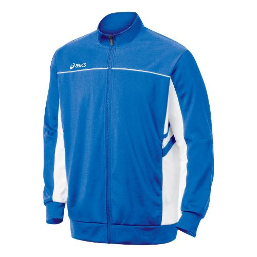 Mens ASICS Cabrillo Running Jackets - Royal/White M