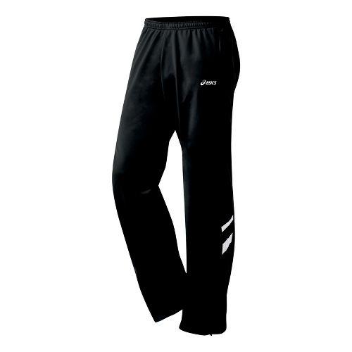 Mens ASICS Cabrillo Pant Full Length - Black/White M