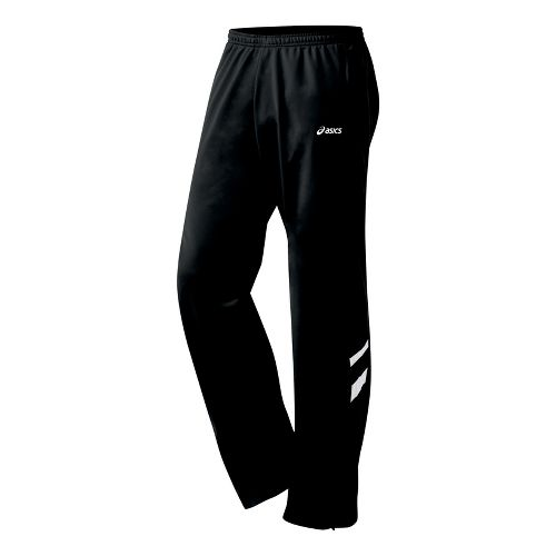 Mens ASICS Cabrillo Pant Full Length - Black/White XL