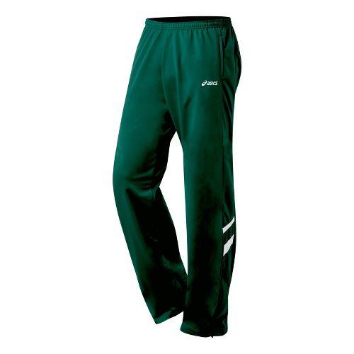 Mens ASICS Cabrillo Pant Full Length - Forest/White XL