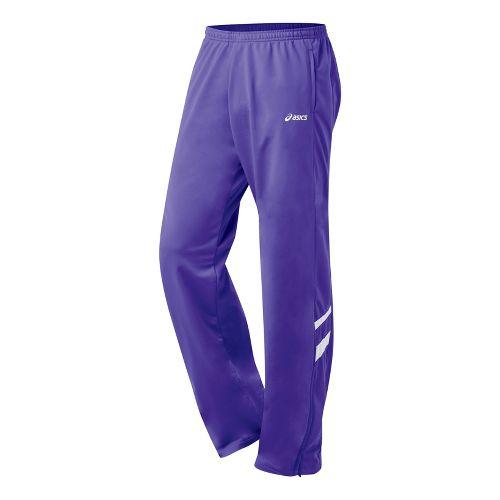 Mens ASICS Cabrillo Pant Full Length - Purple/White L
