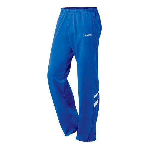 Mens ASICS Cabrillo Pant Full Length - Royal/White L