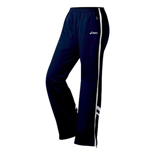 Womens ASICS Cabrillo Pant Full Length - Navy/White XXL