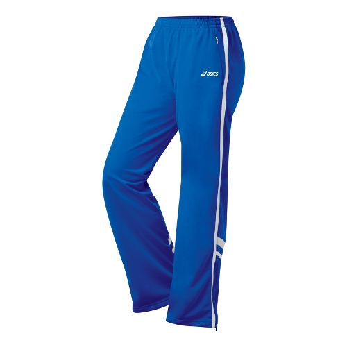 Womens ASICS Cabrillo Pant Full Length - Royal/White XL