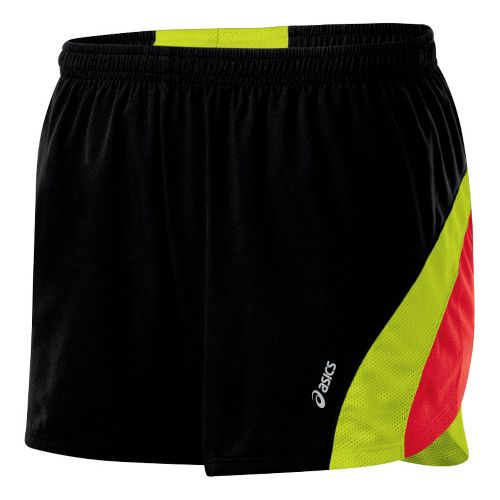Womens ASICS ARD Short Lined Shorts - Black/WOW M