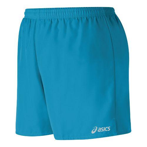 Womens ASICS Core Microfiber Short Lined Shorts - Lapis S