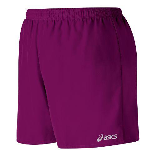 Womens ASICS Core Microfiber Short Lined Shorts - Magenta XL