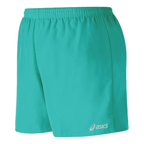 Womens ASICS Core Microfiber Short Lined Shorts - Teal S