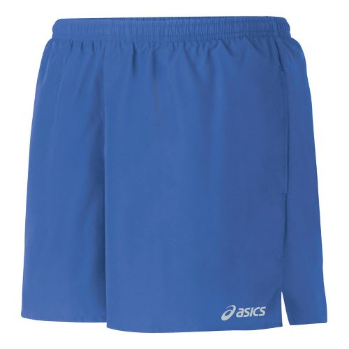 Womens ASICS Core Pocketed Lined Shorts - Berry XS