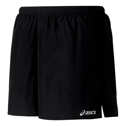 Womens ASICS Core Pocketed Lined Shorts - Black L