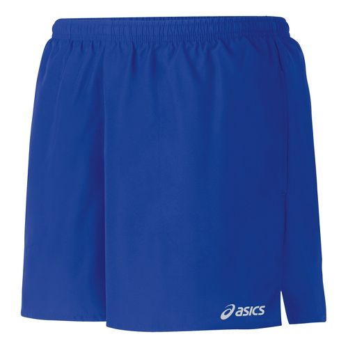 Womens ASICS Core Pocketed Lined Shorts - Dazzling Blue M