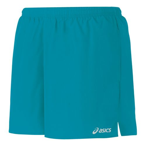Womens ASICS Core Pocketed Lined Shorts - Enamel XL