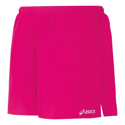 Womens ASICS Core Pocketed Lined Shorts - Magenta L