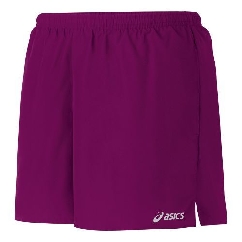 Womens ASICS Core Pocketed Lined Shorts - Magenta XL