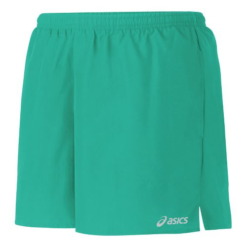 Womens ASICS Core Pocketed Lined Shorts - Mint L