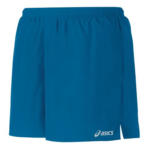 Womens ASICS Core Pocketed Lined Shorts - Peacock L