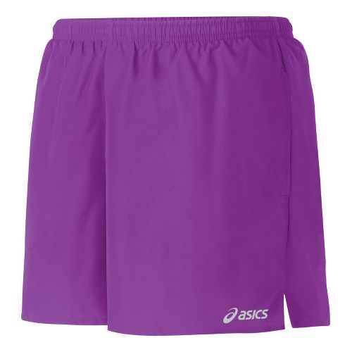 Womens ASICS Core Pocketed Lined Shorts - Purple Pop L