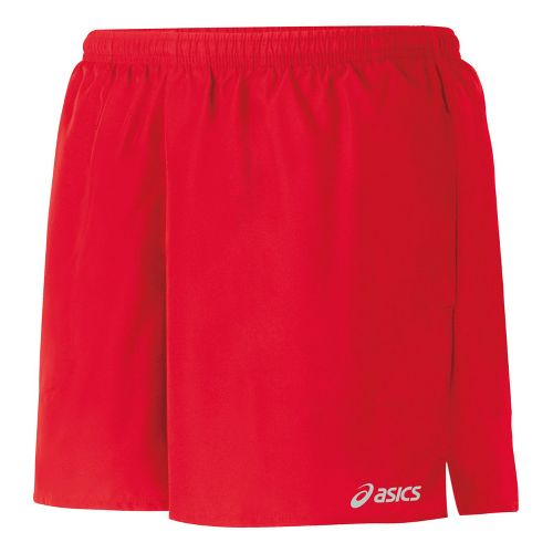 Womens ASICS Core Pocketed Lined Shorts - Ruby XS