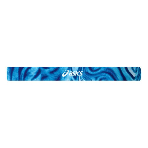 Womens ASICS Printed Headbands Headwear - Aquadelic