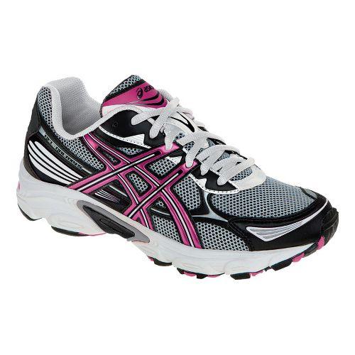 Womens ASICS GEL-Galaxy 5 Running Shoe - White/Berry 10