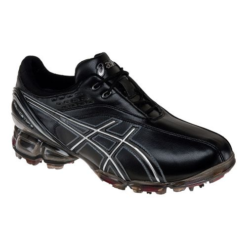 Mens ASICS GEL-Ace Pro Casual Shoe - Black/Silver 12