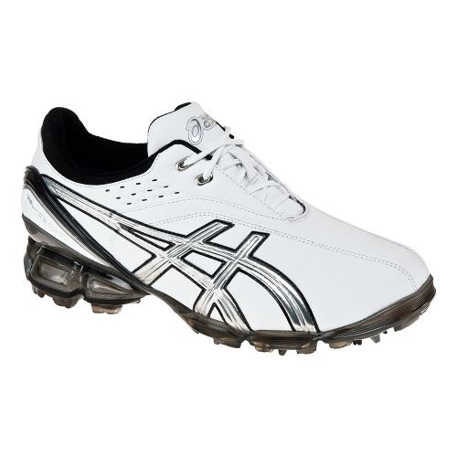 Mens ASICS GEL-Ace Pro Casual Shoe - White/Silver 9