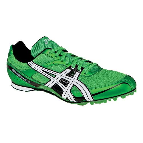 Mens ASICS Hyper MD 4 Track and Field Shoe - Electric Apple/White 4