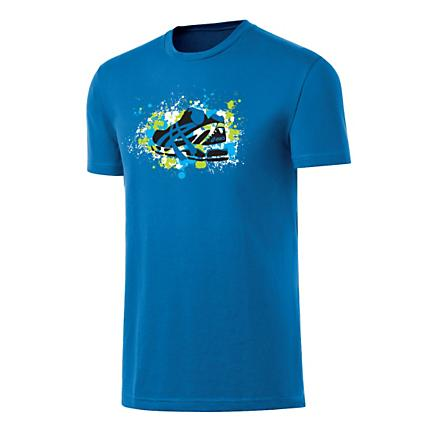 Mens ASICS Graphic Tee Short Sleeve Technical Tops
