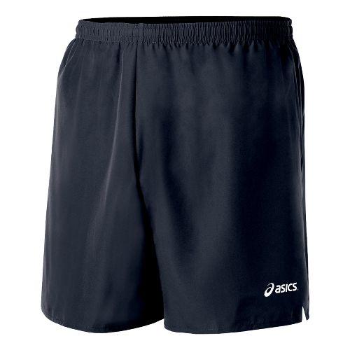 Mens ASICS Core Microfiber Short Lined Shorts - Iron L