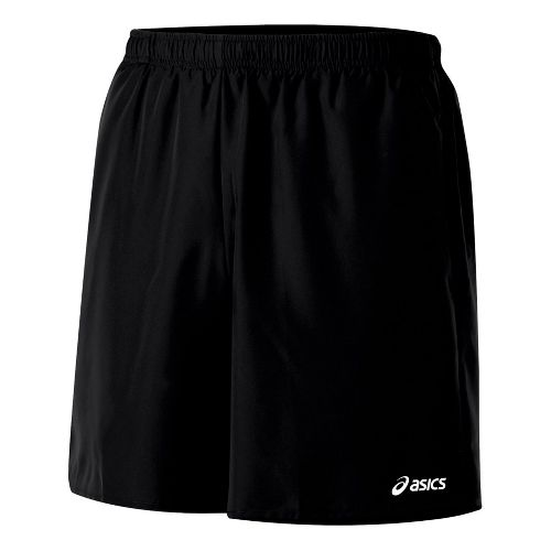 Mens ASICS Core Pocketed Lined Shorts - Black XL