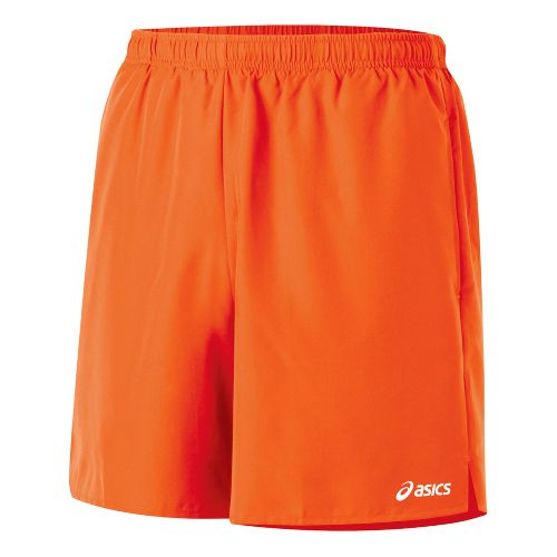 Mens ASICS Core Pocketed Lined Shorts - Blaze XL