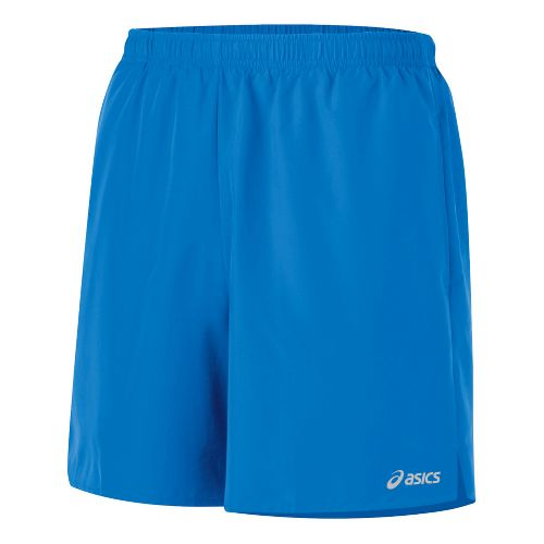Mens ASICS Core Pocketed Lined Shorts - Electric M