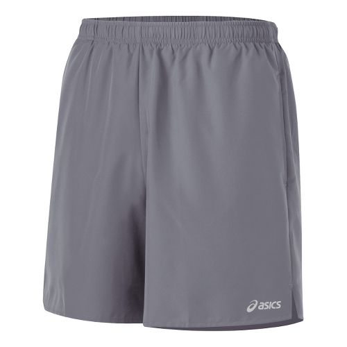 Mens ASICS Core Pocketed Lined Shorts - Frost XL