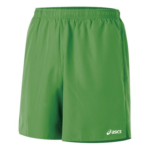 Mens ASICS Core Pocketed Lined Shorts - Fairway XL