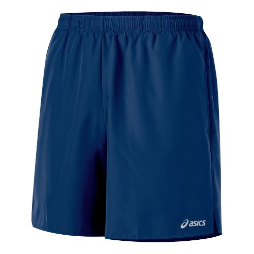 Mens ASICS Core Pocketed Lined Shorts - Ink XXL