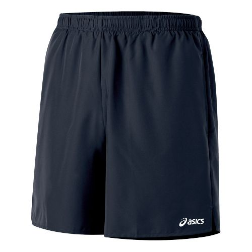 Mens ASICS Core Pocketed Lined Shorts - Iron S
