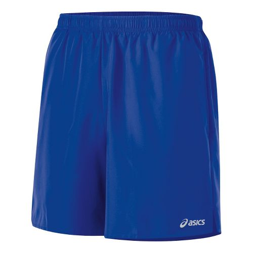 Mens ASICS Core Pocketed Lined Shorts - Surf L