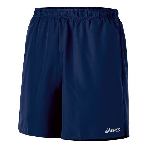 Mens ASICS Core Pocketed Lined Shorts - True Navy L