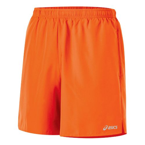 Mens ASICS Core Pocketed Lined Shorts - Zest L