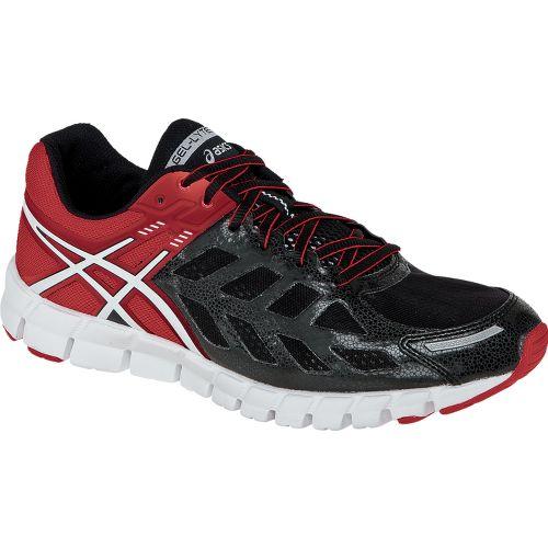 Mens ASICS GEL-Lyte33 Running Shoe - Black/White 7.5
