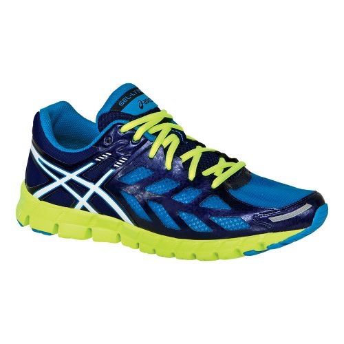 Mens ASICS GEL-Lyte33 Running Shoe - Electric Blue/White 7
