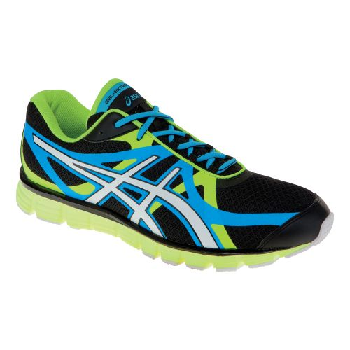 Mens ASICS GEL-Extreme33 Running Shoe - Black/White 10.5