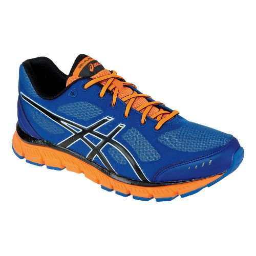 Mens ASICS GEL-Flash Running Shoe - Royal/Black 9.5